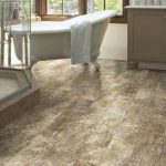 Elegant Vinyl Plank Flooring Bathroom