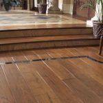 Deluxe Wide Plank Hand scraped Laminate Flooring