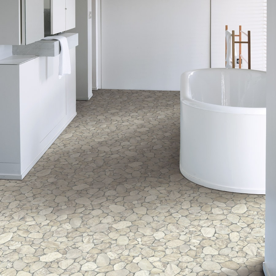 Elegant Bathroom Vinyl Flooring