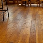 Simple Knotty Pine Wood Flooring